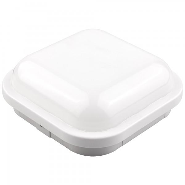 Aplique led ip65 blanco cuadrado 20w.fri