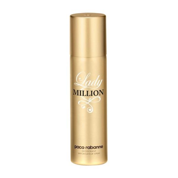 Paco rabanne lady million desodorante 150ml vaporizador