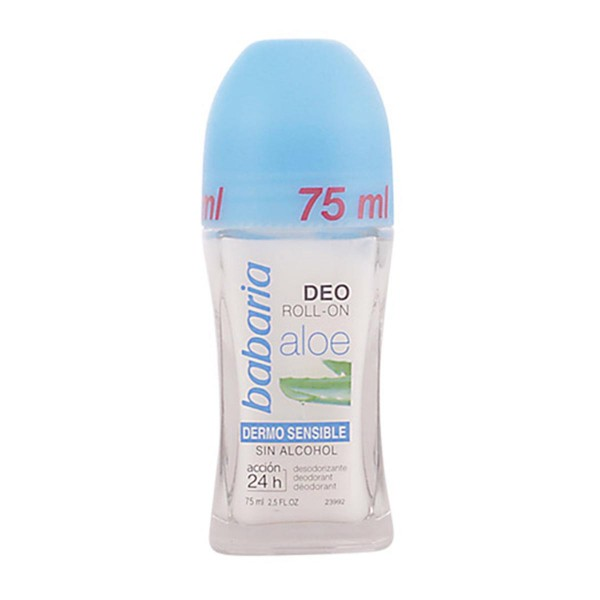 Babaria aloe vera desodorante roll-on sin alcohol 75ml