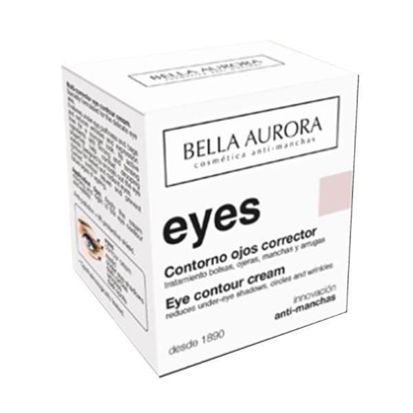 Bella aurora eyes contorno de ojos corrector 15ml