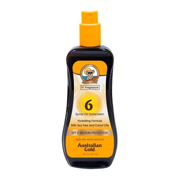 Australian gold zanahoria aceite spray spf6 237ml vaporizador